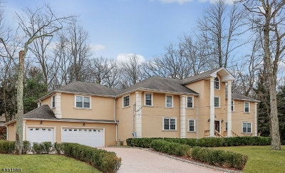 WATCHUNG Single Family Home For Sale: 936 Valley Rd