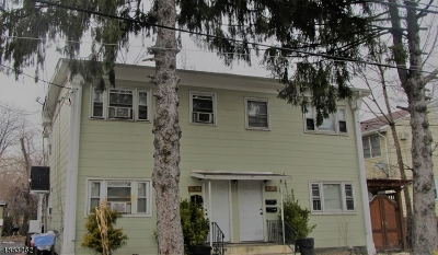Rahway City Multi Family Home For Sale: 1076-80 Broad St