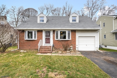 CRANFORD Single Family Home For Sale: 15 Van Beuren Ave