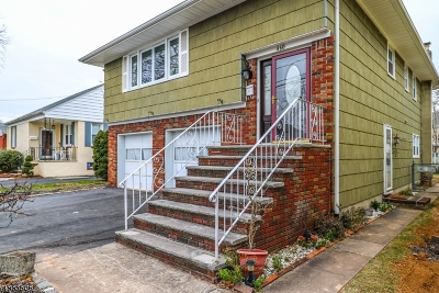 RAHWAY Single Family Home For Sale: 460 Cornell Ave
