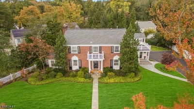 Millburn Twp. Single Family Home For Sale: 17 Crescent Place