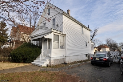 West Orange Twp. Single Family Home For Sale: 196 Watchung Ave