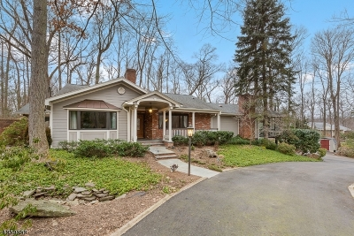 WATCHUNG Single Family Home For Sale: 101 Stanie Glen Rd