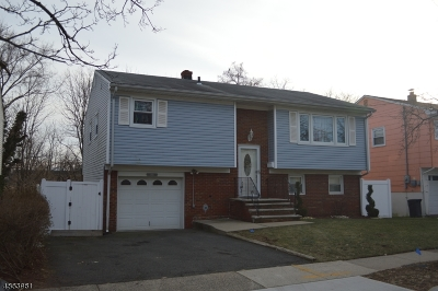RAHWAY Single Family Home For Sale: 1895 Henry St