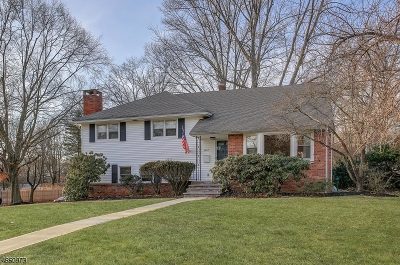 Scotch Plains Twp. Single Family Home For Sale: 1957 Duncan Dr