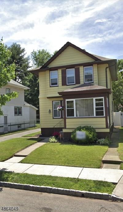 West Orange Twp. Single Family Home For Sale: 8 Pillot Pl