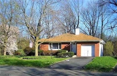 Mountainside Boro Single Family Home For Sale: 1279 Poplar Ave