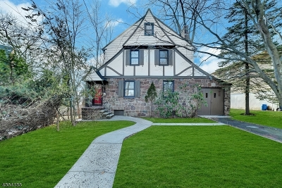 West Orange Twp. Single Family Home For Sale: 18 Florence Pl