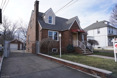 RAHWAY Single Family Home For Sale: 1268 Westfield Ave