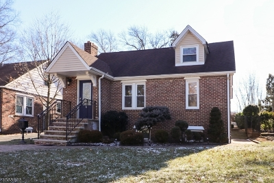 Cranford Twp. Single Family Home For Sale: 201 N Lehigh Ave