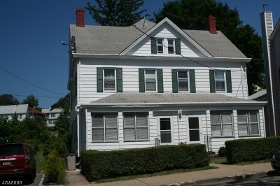Boonton Town Multi Family Home For Sale: 216 Boonton Ave