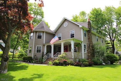 Berkeley Heights Twp. Single Family Home For Sale: 14 Rogers Pl