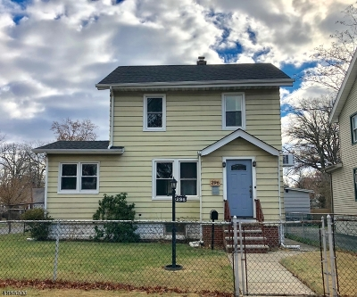 Roselle Boro Single Family Home For Sale: 296 E 5th Ave