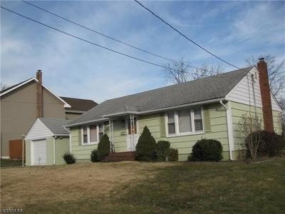 Woodbridge Twp. Single Family Home For Sale: 712 Barron Ave