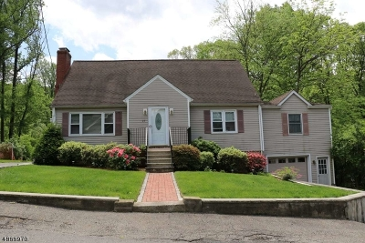 Denville Twp. Single Family Home For Sale: 25 Vista Way
