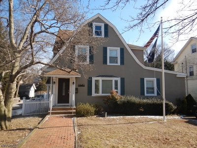 Nutley Twp. Single Family Home For Sale: 600 Bloomfield Ave