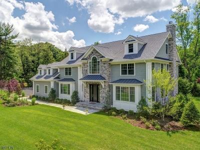 Millburn Twp. Single Family Home For Sale: 7 Saratoga Way