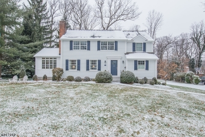 Chatham Twp. Single Family Home For Sale: 42 Edgewood Rd