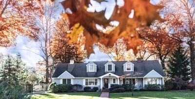 Millburn Twp. Single Family Home For Sale: 11 Quaker Rd