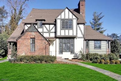 Millburn Twp. Single Family Home For Sale: 11 Wyndham Road