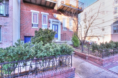 Hoboken City Condo/Townhouse For Sale: 132 Jackson St Apt. 1n #1N