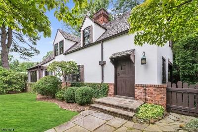 Millburn Twp. Single Family Home For Sale: 22 Burnside Dr