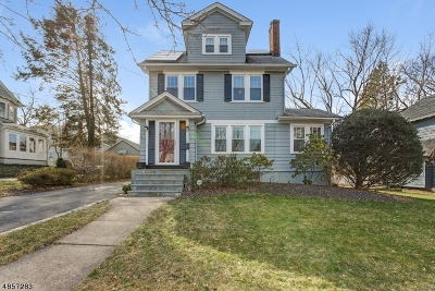 Maplewood Twp. Single Family Home For Sale: 18 Plymouth Ave