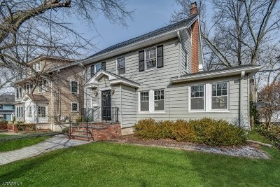 Maplewood Twp. Single Family Home For Sale: 49 Park Ave