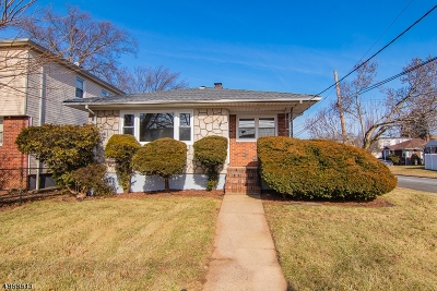LINDEN Single Family Home For Sale: 500 Chandler Ave