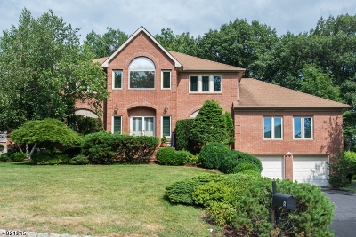 Parsippany-Troy Hills Twp. Single Family Home For Sale: 6 Dean Gallo Ct