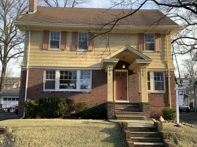 South Orange Village Twp. Single Family Home For Sale: 134 S Kingman Rd