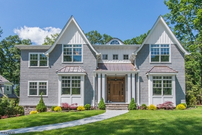 Millburn Twp. Single Family Home For Sale: 30 Addison Dr