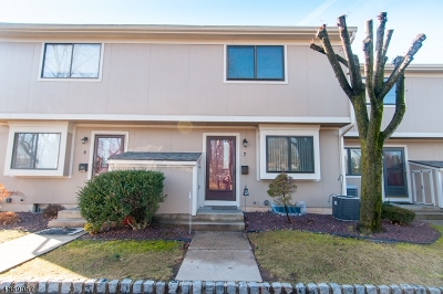 Edison Twp. Condo/Townhouse For Sale: 141 W.grandview Ave