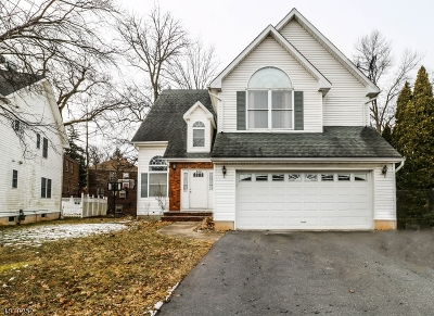 Rahway, Rahway City Single Family Home For Sale: 886 Billy Ct