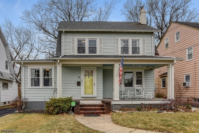 Maplewood Twp. Single Family Home For Sale: 19 Colgate Rd