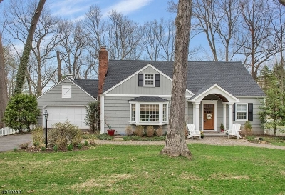 New Providence Boro Single Family Home For Sale: 33 Tall Oaks Dr