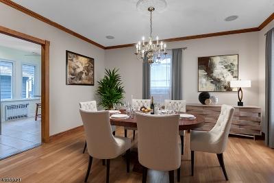 South Orange Village Twp. Single Family Home For Sale: 4 East Clark Pl