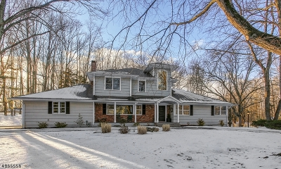 Scotch Plains Twp. Single Family Home For Sale: 3 Scotchwood Gln