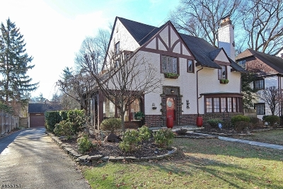 Plainfield City Single Family Home For Sale: 1362-64 Martine Ave