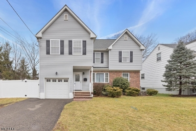 Scotch Plains Twp. Single Family Home For Sale: 201 Harding Rd
