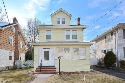 Roselle Boro Single Family Home For Sale: 406 Pine St