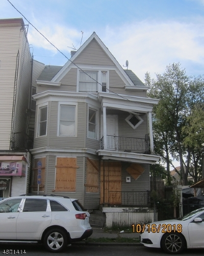 Paterson City NJ Multi Family Home For Sale: $74,900