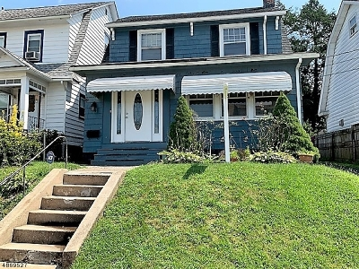 West Orange Twp. Single Family Home For Sale: 14 Winfield St