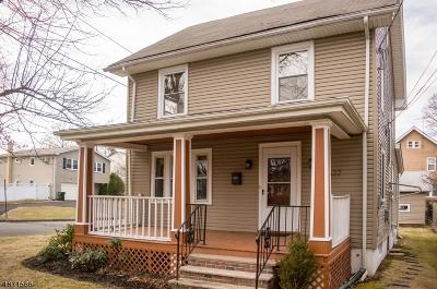 Scotch Plains Twp. Single Family Home For Sale: 2527 John St
