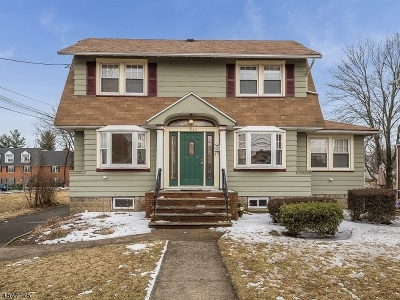 Maplewood Twp. Single Family Home For Sale: 548 Irvington Ave