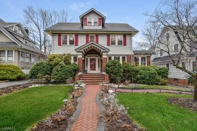 Maplewood Twp. Single Family Home For Sale: 38 Courter Ave