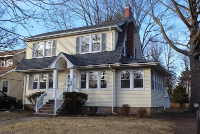 Rahway City, Rahway Single Family Home For Sale: 657 Central Ave