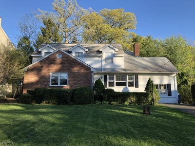Fanwood Boro Single Family Home For Sale: 90 Woodland Ave