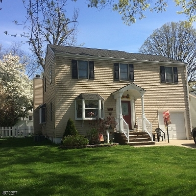 Rahway City, Rahway Single Family Home For Sale: 439 Orchard St