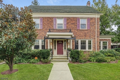 South Orange Village Twp. Single Family Home For Sale: 660 Sinclair Ter